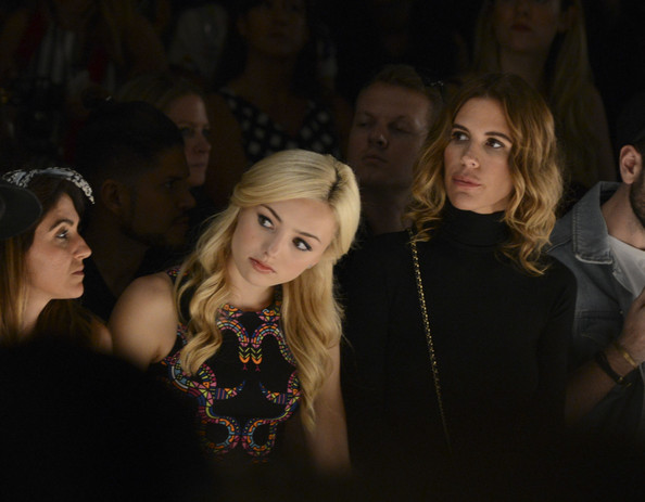 Peyton List - Mara Hoffman - Front Row - Mercedes-Benz Fashion Week Spring 2015