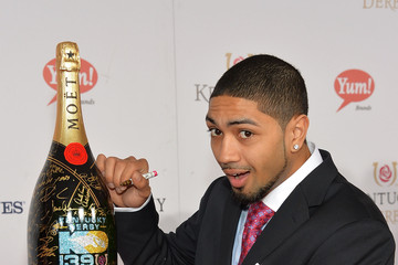 Peyton Siva Moet & Chandon Toasts The 139th Kentucky Derby - Day 2