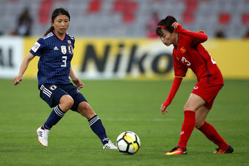 Pham Hoang Quynh Japan v Vietnam - AFC Women's Asian Cup Group B