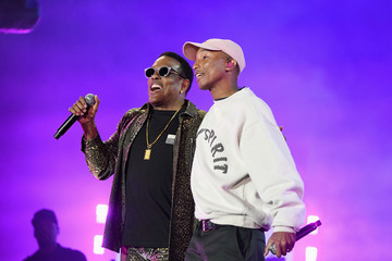 Pharrell Williams Charlie Wilson SOMETHING IN THE WATER - Day 2