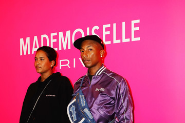 Pharrell Williams Helen Lasichanh Chanel Mademoiselle Prive Tokyo - Photocall