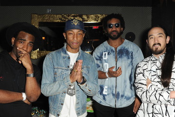 Pharrell Williams Watch The Duck and Friends EP Release Party