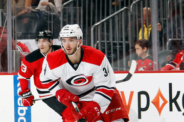 Phil Di Giuseppe Carolina Hurricanes v New Jersey Devils
