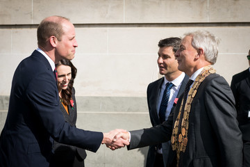 Phil Goff The Duke Of Cambridge Prince William Visits New Zealand