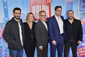 Phil Johnston Rich Moore 'Ralph 2.0' Premiere In France