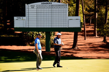 Phil Mickelson The Masters - Preview Day 2