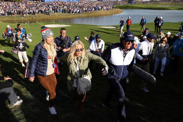 Phil Mickelson Amy Mickelson 2018 Ryder Cup - Afternoon Foursome Matches
