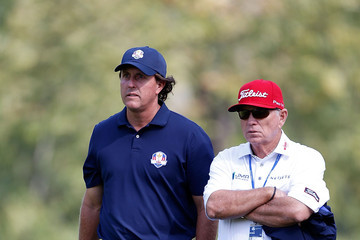 Phil Mickelson Butch Harmon Ryder Cup - Preview Day 2