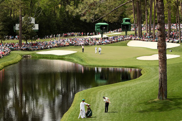 Phil Mickelson Rickie Fowler The Masters - Round Two