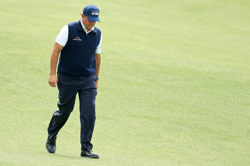 Phil Mickelson The Masters - Round Two