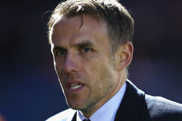 Phil Neville Arsenal Women Vs. Manchester City Ladies: WSL Continental Cup Final
