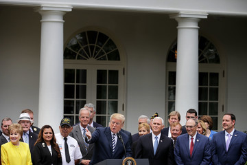 Phil Roe President Trump Holds Signing Ceremony For Veteran Affairs Mission Act of 2018