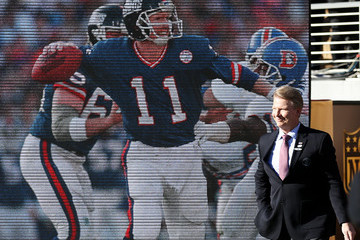 Phil Simms Super Bowl 50 - Carolina Panthers v Denver Broncos