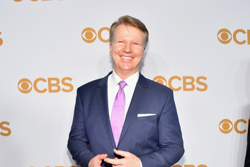 Phil Simms 2015 CBS Upfronts - Arrivals