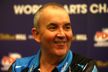 Phil Taylor 2017 William Hill PDC World Darts Championships - Day Four