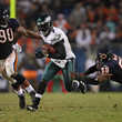 Michael Vick and Julius Peppers Photos
