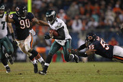 Michael Vick and Julius Peppers Photos Photo
