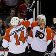 Ian Laperriere and Jeff Carter Photos