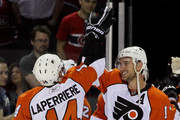 Ian Laperriere and Jeff Carter Photos Photo