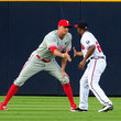 Hunter Pence and Michael Bourn Photos