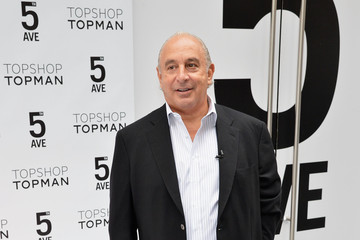 Philip Green Topshop Topman New York City Flagship Grand Opening