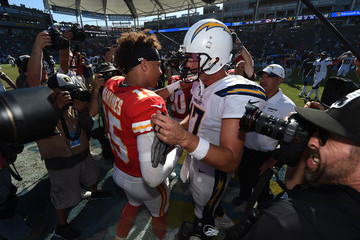 Philip Rivers Kansas City Chiefs vs. Los Angeles Chargers