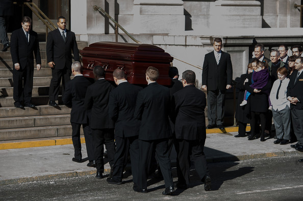 Mimi O'Donnell in Funeral Held for Philip Seymour Hoffman ...