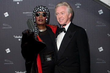 Philip Treacy Arrivals at the Isabella Blow: Fashion Galore! Event