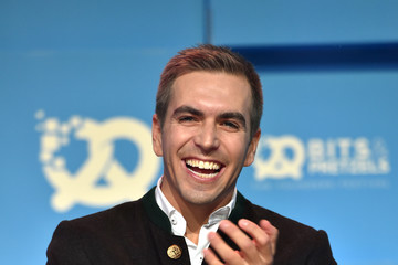 Philipp Lahm Bits & Pretzels Founders Festival in Munich - Day 2
