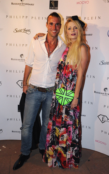 Misha Barton Misha Barton (R) and Philipp Plein attend the Philipp Plein Boutique opening party on July 8, 2010 in Saint-Tropez, France.
