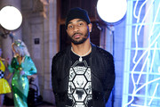NFL wide receiver Braxton Miller attends the Front Row for the Philipp Plein Fall/Winter 2017/2018 Women's And Men's Fashion Show at The New York Public Library on February 13, 2017 in New York City.