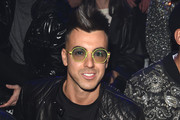 Stephan El Shaarawy attends the Philipp Plein fashion show on February 22, 2020 in Milan, Italy.