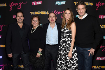 Philippe Dauman Cyma Zarghami 'Younger' Season 2 and 'Teachers' Series Premiere - Arrivals