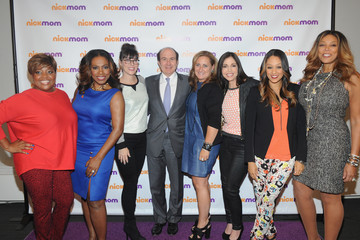 Philippe Dauman Cyma Zarghami NickMom Panel Discussion in Times Square