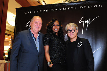 Philippe Opening Party For Giuseppe Zanotti Store At Phipps Plaza Hosted By Giuseppe Zanotti And Rico Love