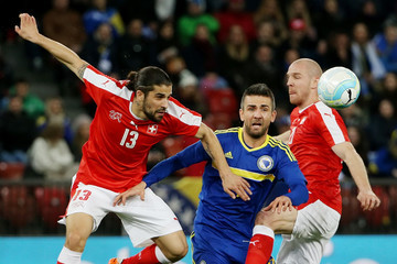 Philippe Senderos Switzerland v Bosnia - International Friendly