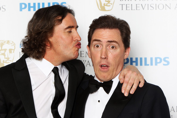 Steve+Coogan in Philips British Academy Television Awards - Winners Boards