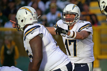 Phillip Rivers San Diego Chargers v Green Bay Packers