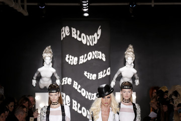 Phillipe Blond The Blonds - Runway - Fall 2015 MADE Fashion Week Fall 2015