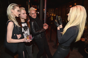 Phillipe Blond E! Fashion Police And NYLON Kickoff NY Fashion Week - Inside