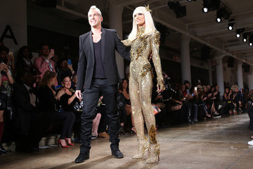 Phillipe Blond The Blonds - Front Row - Spring 2016 MADE Fashion Week