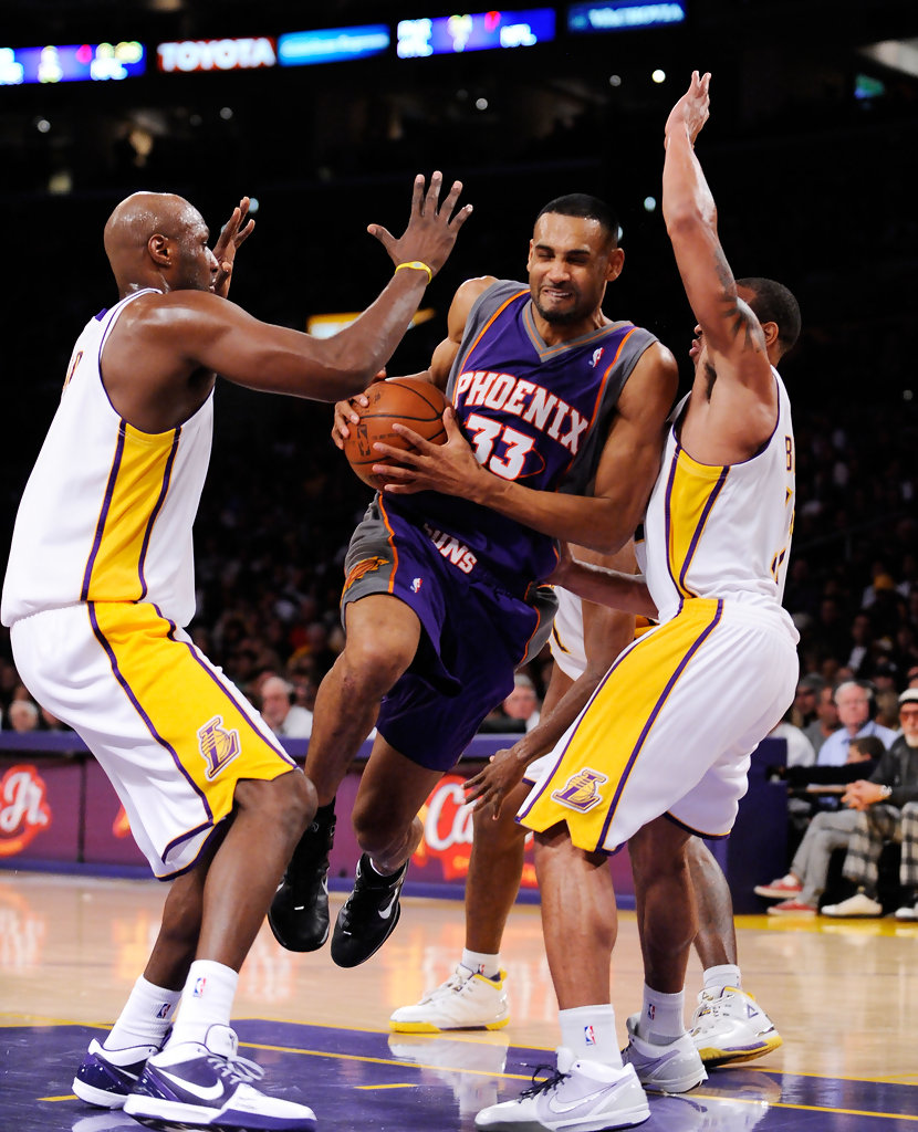 Phoenix Suns: Grant Hill In Phoenix Suns V Los Angeles Lakers