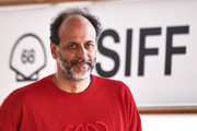 """Italian director Luca Guadagnino attends  """"We Are Who We Are"""" photocall during the 68th San Sebastian International Film Festival  at the Kursaal Palace on September 21, 2020 in San Sebastian, Spain."""