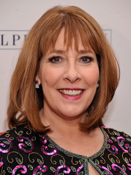 The 61-year old daughter of father (?) and mother(?), 165 cm tall Phyllis Logan in 2017 photo