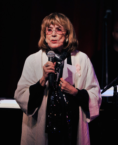 Phyllis Newman Singer/actress Phyllis Newman speaks to the audience at ...