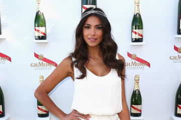 Pia Miller Celebs Attend Melbourne Cup Day