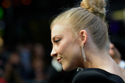 Natalie Dormer is interviewed as she attends the 'Picnic at Hanging Rock' premiere during the 14th Zurich Film Festival at Festival Centre on October 05, 2018 in Zurich, Switzerland.