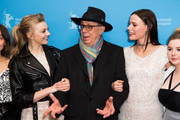Natalie Dormer, festival director Dieter Kosslick and Lily Sullivan attend the 'Picnic at Hanging Rock' premiere during the 68th Berlinale International Film Festival Berlin at Zoo Palast on February 19, 2018 in Berlin, Germany.