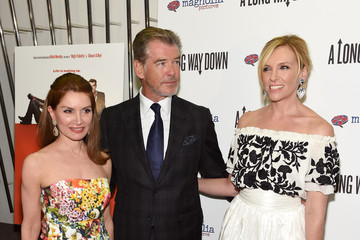 Pierce Brosnan 'A Long Way Down' Premieres in NYC