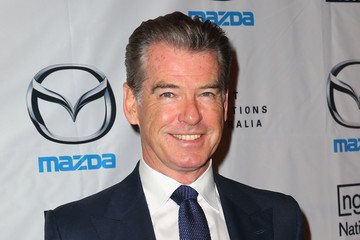 Pierce Brosnan National Gallery of Victoria Opening Night